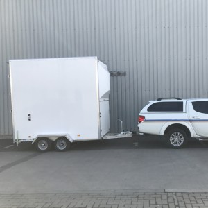 storage trailer side with l200